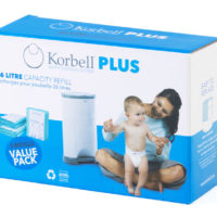 Korbell Plus Refill - 3 Pack