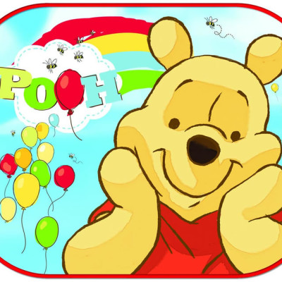 Disney Winnie The Pooh with Balloon Sunshade