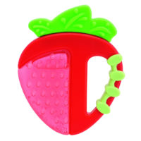 Chicco Fresh Relax Teether 4 m+ - Strawberry