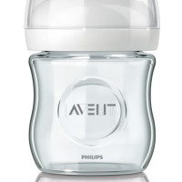 Avent Natural Feeding Glass Bottle 120ml