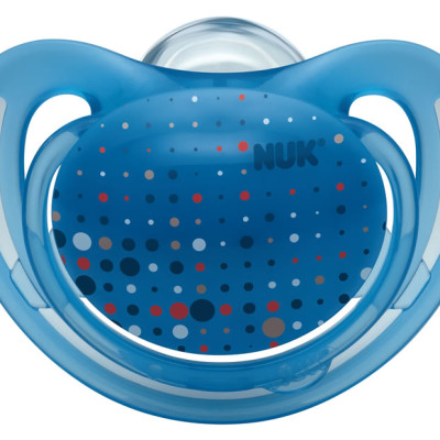 Nuk Silicone Freestyle Soother - Size 1 - Blue