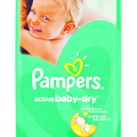 Pampers Active Baby XL 56's