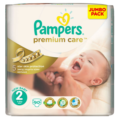 Pampers Premium Care Mini 90's