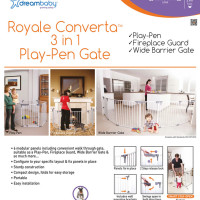 Dream Baby Royal Converta 3-in-1 Play-Pen Gate