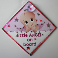 Bling Little Angel On Board