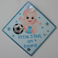 Bling Little Star On Board