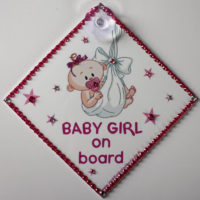 Bling Baby Girl On Board