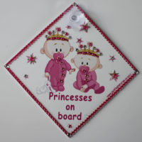 "Bling Princesses On Board ""Girls"""