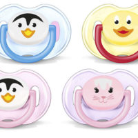 "Avent Soother 0-6m ""Animal"" 2 Pack"
