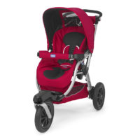 "Chicco Activ3 Stroller ""Red Wave"""