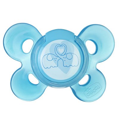 "Chicco Silicone Comfort Soother 4m+ ""Blue"""