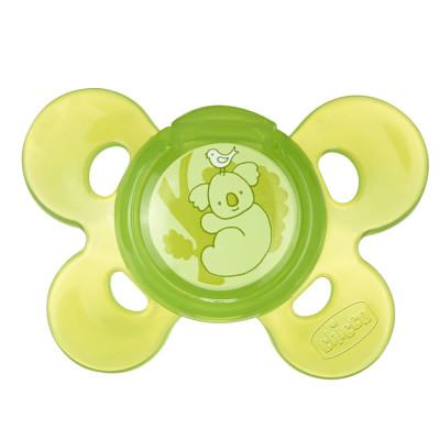"Chicco Silicone Comfort Soother 12m+ ""Neutral"""