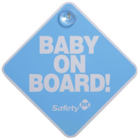 "Safety First Baby On Board ""Blue"""