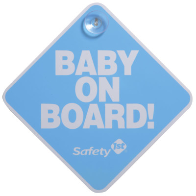 """Safety First Baby On Board """"Blue"""""""