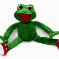 Clamber Club Jog The Frog Large Plush