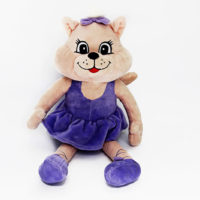 Clamber Club Leaping Lila Large Plush