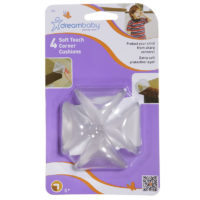 Dream Baby Soft Touch Corner Cushions 4 Pack