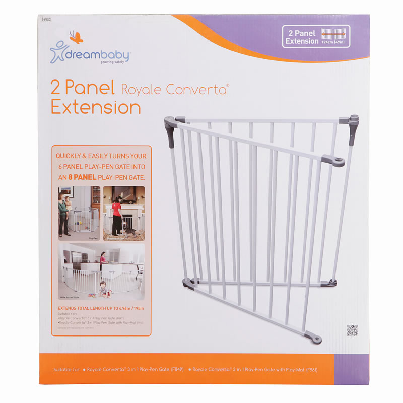 Dream Baby Royal Converta Playpen Extension 2 Pack Baby City