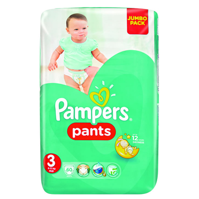 Pampers Active Pants Midi 60's