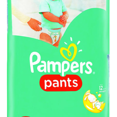 Pampers Active Pants Maxi 52's