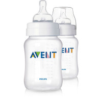 Avent Classic Bottle 260ml 2 Pack