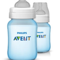 "Avent Classic Bottle 260ml ""Blue"""