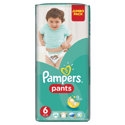Pampers Active Pants XL 44's