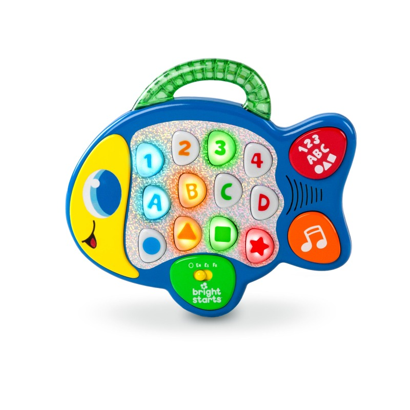 Bright Starts Lights Lights Baby Learn Amp Giggle Fish