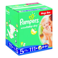 Pampers Jumbo Mega Box Junior 111's