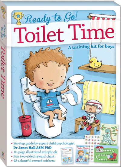Laceys Toilet Time For Boys
