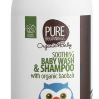 Pure Beginnings Baby Wash & Shampoo & Organic Baobab 500ml