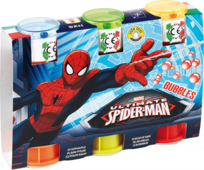 Lacey's Spider Man Bubbles 3 Pack