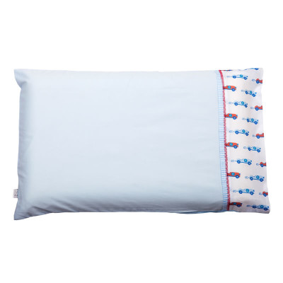 "Clevamama Baby Pillow Case ""Blue"""