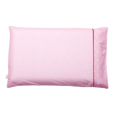 "Clevamama Baby Pillow Case ""Pink"""