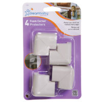 "Dreambaby Foam Corner Cushions 4 Pack ""Grey"""