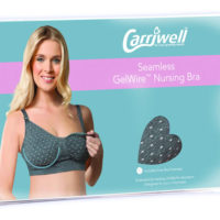 Carriwell Gelwire Nursing Bra Polka Dot Small