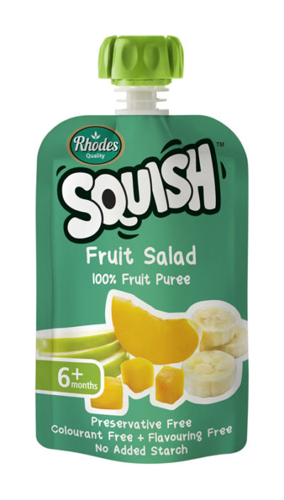 Squish Fruit Salad Puree