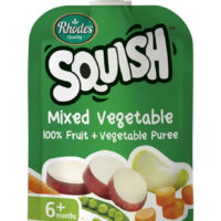 Squish Mixed Vegetables Puree