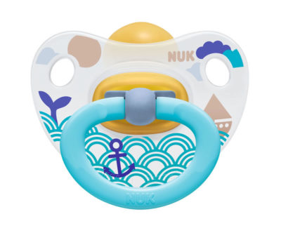 Nuk Latex Fun Soother Size 3 - Wave