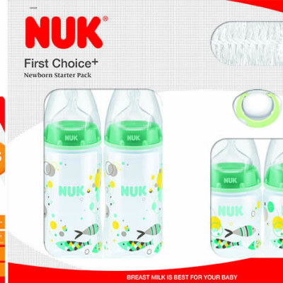 Nuk First Choice Starter Pack - Fish