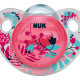 Nuk Silicone Trendline Soother Size 1 (Assorted) - Flora