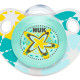 Nuk Silicone Trendline Soother Size 2 (Assorted) - Starfish