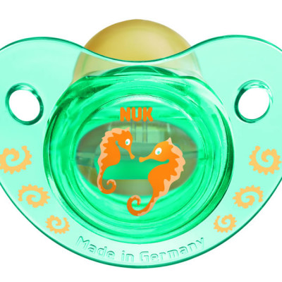 Nuk Latex Trendline Soother (Assorted) - Seahorse