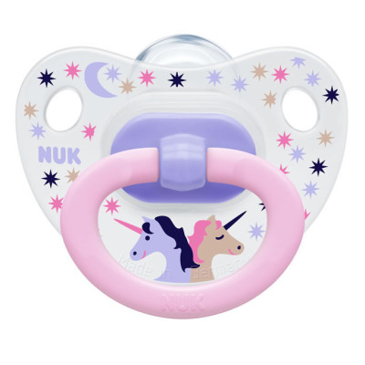 Nuk Silicone Summertime Soother Size 2 - Unicorn