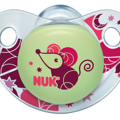 Nuk Silicone Sleeptime Ocean Soother Size 2 - Mouse