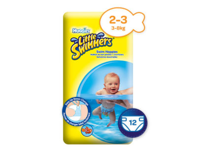 Huggies Little Swimmers Small 3-8kg 12's
