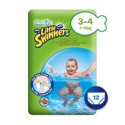 Huggies Little Swimmers Medium 7-17kg 12's