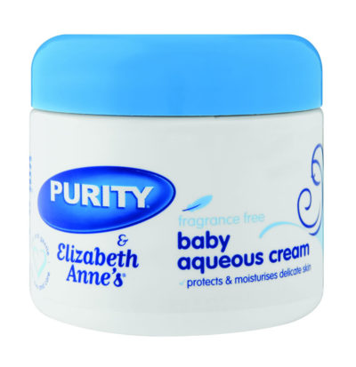 Elizabeth Annes Baby Aqueous Cream Fragrance Free 350ml