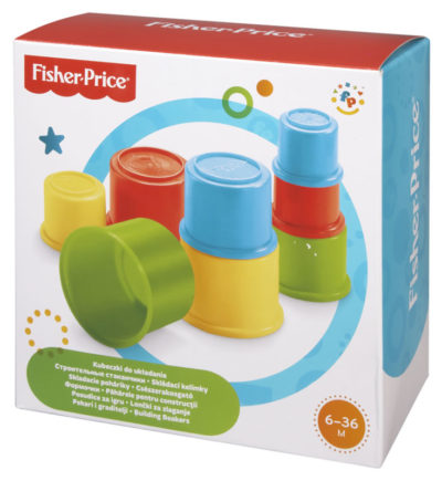 Fisher Price Stacking Cups '9'