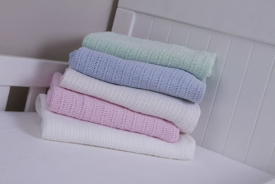 Snuggletime Cotton Cellular Blankets (Assorted Colours)
